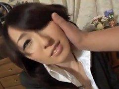 Anno Kiriya Penis Sucking And Gets Cum