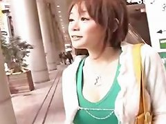 Busty Japanese Girl With Hairy Pussy Blows And Gets Nailed