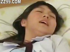 Busty Schoolgirl Seduced By Lesbian Geek