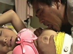 Dude Greedily Suck Delicious Natural Boobs Of Giggling Japanese Brunette