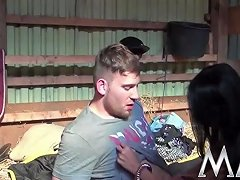 Tiny Busty Asian In The Barn Free Tiny Asian Porn Video 7c