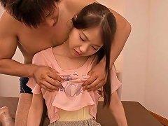 Sweet Japanese Teen Ena Sakura Gives A Sensual Hot Blowjob