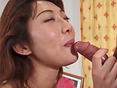 Nasty Jap Mommy Eating Cock And Getting Doggy