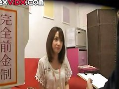 Cute Little Asian Girl Is Starting In The Sex Industry And