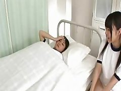 Japanese Lesbians Making Love In A Tub