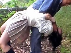 Asian School Babe Gets Sexually Abused In A Van
