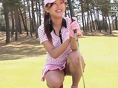 Teen Golfer Gets Her Pink Pounded On The Green