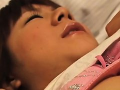 Slutty Asian Chick Gets Her Hairy Honey Hole Fucked Deep An